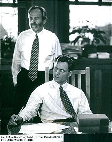 Tony Goldwyn - Vintage Photo de Ron rifkin et Tony