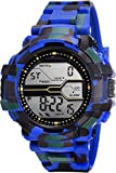 Braton Men's Solitary Affrican Army Pattern Solitary Affrican Army Watch - for Men & Women