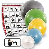 Ballon DE Gymnastique Anti-éclatement - Yoga, Pilates - Pompe comprise