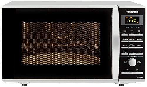 Panasonic 27L Convection Microwave Oven(NN-CD674MFDG,Silver, Rotisserie) with Starter Kit