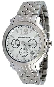 MICHAEL KORS - MK5171 - Chronographe - Montre Femme - Bracelet en metal couleur argent