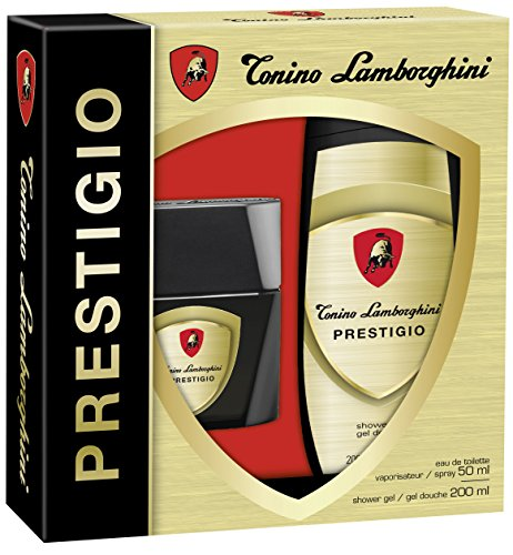 Tonino Lamborghini Prestigio Set (EDT 50 ml, Shower Gel 200 ml), 1er Pack (1 x 250 ml)