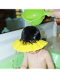 Vepson Adjustable Baby Bathing Shower/Shampoo Cap for Kids -2 Pieces