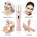 Halcent Cordless Multi Grooming Kit 4 In 1 Ladies Electric Shaver Hair Removal Tool With Eyebrow TrimmerHair RemoverNose Precision TrimmerPainless Epilator For Women