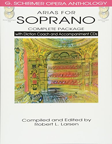Arias For Soprano - Complete Package (G. Schirmer Opera Anthology)