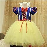 Niña de las nieves para niña blanco princesa Carnaval de Halloween vestido de fiesta ropa traje de Cosplay
