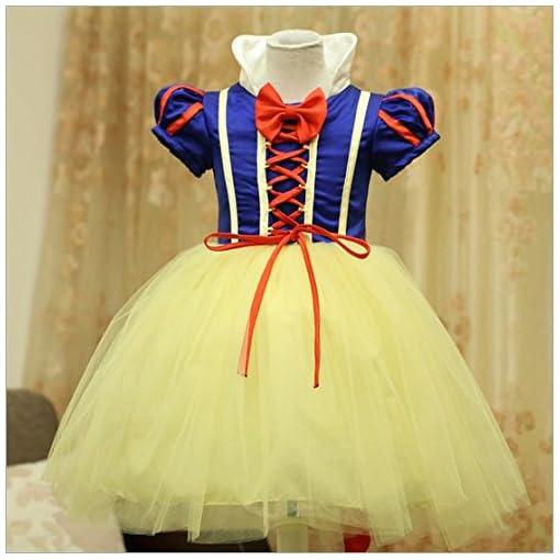 Disfraz De Blancanieves Para Niña Carnaval Halloween Vestido De Fiesta Traje De Cosplay Compra Disfraces Y Máscaras