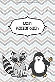 Mein Kasssenbuch: einfaches Kassenbuch für Kinder - Einnahmen Ausgaben Übersicht - Erlerne den Umgang mit Geld - Pinguin - Geschenkbuch – 120 Seiten - ca. DIN A5