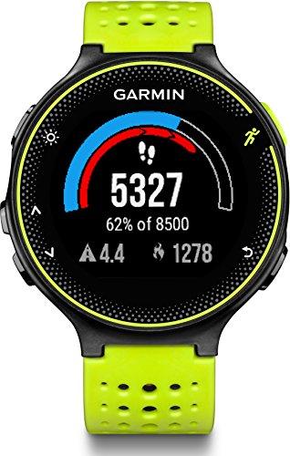 Garmin Forerunner 230 HR GPS-Laufuhr inkl. Herzfrequenz-Brustgurt – 16 Std. Akkulaufzeit, Smart Notifications - 3