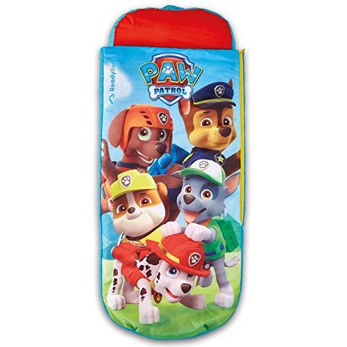 TW24 Kinder Gästebett - Disney Schlafsack - Kinderbett - Kinderschlafsack - Ready Bed mit Motivauswahl (Paw Patrol)