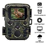 """Donnagelia Cámara de Caza 16MP 1080P de Vida Salvaje Selva Bosque Safari Cámara con visión nocturna infrarroja 20M, Velocidad de Disparo de 0.2 s, Pantalla LCD de 2.4 """", Ángulo de Detección 120, Impermeable IP56"""