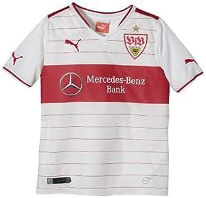 Puma Children's Replica Football Jersey VFB Stuttgart Home white-team regal red Size:176