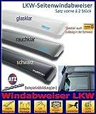 Tuning-Pro Climair LKW-Windabweiser Fahrer- u. Beifahrertür 046071, Farbausführung: rauchklar