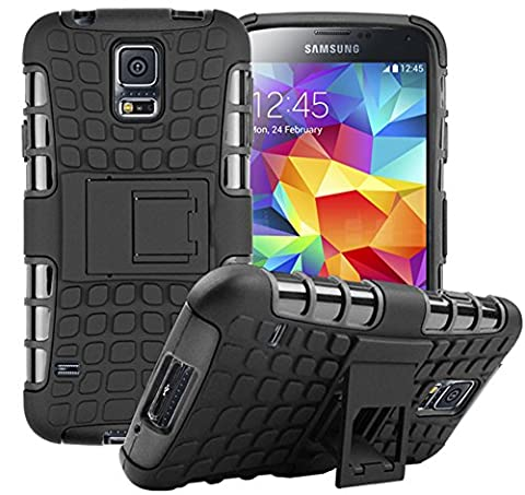 Nnopbeclik 2in1 Dual Layer Coque Samsung Galaxy S5 New [Armor