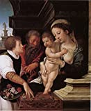 The Holy Family, Barend van Orley, 60x50cm
