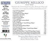 Giuseppe Millico : Oeuvres pour harpe. Degli Esposti, Kamiya, Nuzzoli.