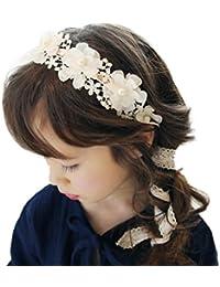 Amison diadema del bebé, Banda para el cabello sombrero corona elástica de cumpleaños headwear