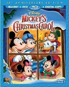 Mickey's Christmas Carol 30th Anniversary Edition [Blu-ray] [1983] [US Import]