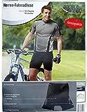Short de cyclisme pour homme Short de cyclisme Avec Rembourrage Coolmax, M, L, XL - black moyen