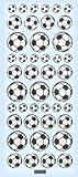Glossy-Sticker Fußball II
