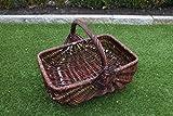 Marcus- Erntekorb Kartoffelkorb Einkaufskorb Weidenkorb Pilzkorb Weiden Blumenkorb (XXL)