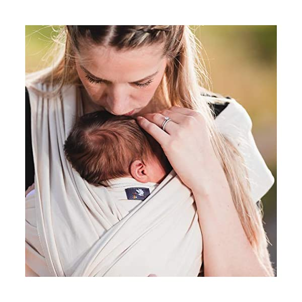Hoppediz 4.60 m Elastic Newborn and Premature Baby Sling GOTS (Aubergine) Hoppediz For newborn and premature babies 100% cotton (GOTS) Soft grip and comfortable elasticity 3