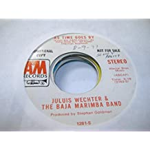 JULIUS WECHTER & THE BAJA MARIMBA BAND 45 RPM As Time Goes By / Same
