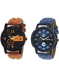 SVM DT-01-02 Latest Designer Leather Multicolor Analog Watch