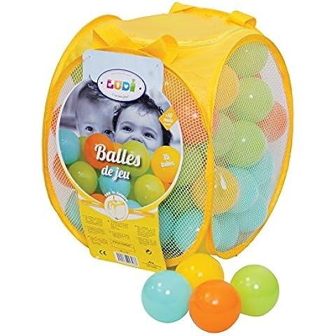 Ludi 2798 - Cesto de 75 bolas para juegos