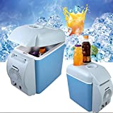 PANGUN Tragbarer 7.5L Mini Car Fridge Freezer Cooler/Warmer 12V Portable Fridge Kühlschrank