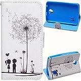 Voguecase® Huawei Y635 Funda Carcasa Cuero Tapa Case Cover(Los jóvenes enamorados) + Gratis aguja de la pantalla stylus universales