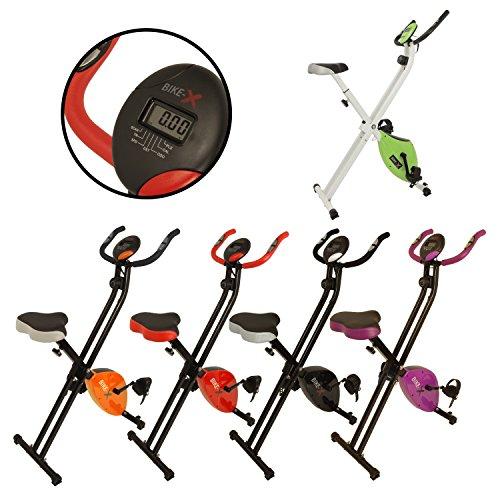 Esprit BIKE-X Fitness Magnetischer Heimtrainer Faltbar Fitness Cardio Workout Gewichtsverlust Machine