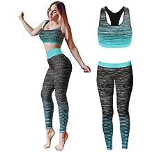 nuevas variedades gran descuento grandes ofertas en moda Amazon.es: ropa para gimnasio mujer - Negro