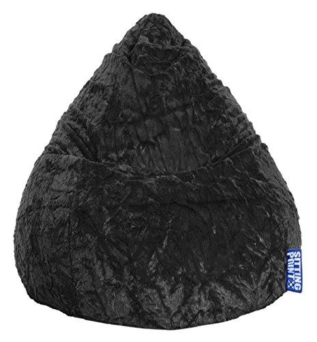 MAGMA Sitzsack Fluffy XL schwarz