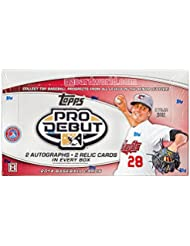 MLB 2014 Pro Debut Baseball Trading Cards