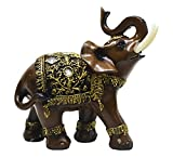 #5: Majik Showpiece Items | Showpiece For Gift Love | Showpiece Elephant | Showpiece For Couple | Home Decoration Item For Living Room | Elephant Showpiece For Good Luck | Home Decoration Item For Hall (Set Of 1)