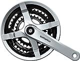 Shimano FC-TY501 Vierkant 6/7/8-fach Kurbelgarnitur, Silber, 170 mm