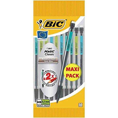 bic-matic-classic-porte-mines-jetables-07-mm-pochette-de-10-maxi-pack