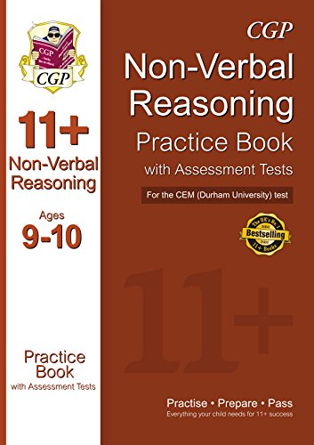 11+ Non-Verbal Reasoning Practice Book with Assessment Tests (Ages 9-10) for the CEM Test (CGP 11+ CEM)