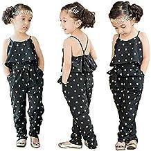 TININNA Abbigliamento per bambini ,Jumpsuits con Baby Girl pagliaccetto senza