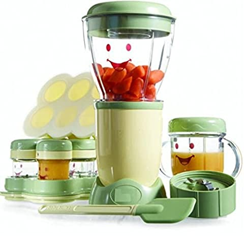 Set XXL babykostwärmer avec cuiseur vapeur et mixeur Magic Bullet Baby Nourriture pour bébés à piston