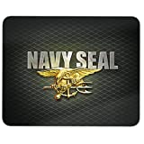"""Mouse Pad -US Navy Seals- Full Color Anti-Slip Rubber Backed Mousepad """"Made in USA"""""""