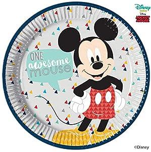 Procos plato 23cm Mickey Mouse Awesome, Multicolor, 5pr89000