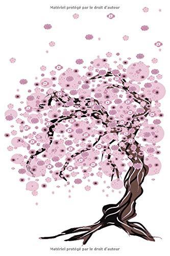 Mon Agenda Perpétuel: Agenda universel de 56 semaines avec des pages supplémentaires à découvrir et une couverture fantaisie : Sakura n°2 (15 x 23 cm)