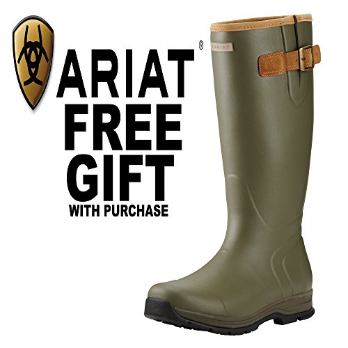 Ariat Mens Burford Insulated Welly green/olive
