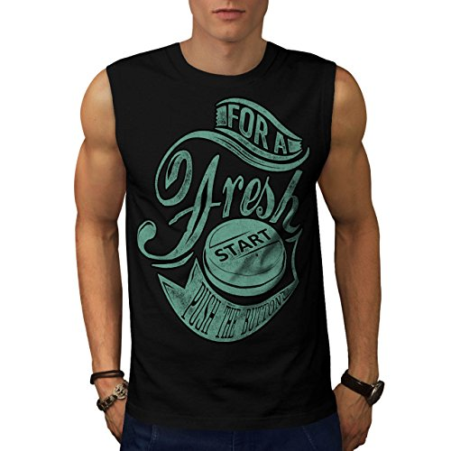 Militär-armee-scharfschütze-t-shirt Top (Frisch Anfang Taste Gaming Frisch drücken Herren S Ärmellos T-shirt | Wellcoda)
