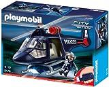 PLAYMOBIL 5178 - Polizeihubschrauber mit LED-Suchscheinwerfer