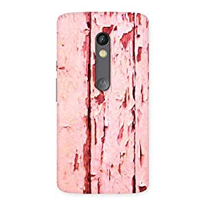 Special Ripped Wood Print Back Case Cover for Moto X Play