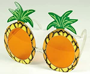 NEW PINEAPPLE GLASSES TROPICAL BEACH PARTY FANCY DRESS