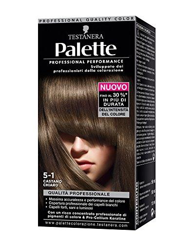 teinture pour les cheveux 5-1 brun clair